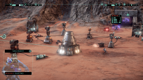 MarZ: Tactical Base Defense im Test (PC): Ballern auf'm Mars