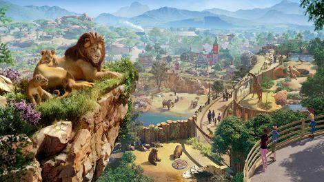 Frontier Developments bringt 2019 eine Zoo-Aufbau-Simulation