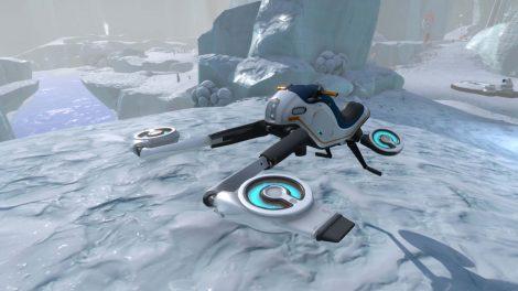 Subnautica: Below Zero – Snowfox-Update bringt futuristisches Hoverbike