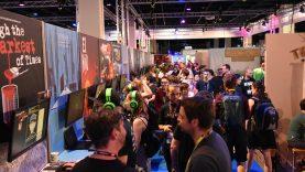 Indie Arena Booth mit knapp 30 Indie Games auf der Dreamhack 2020