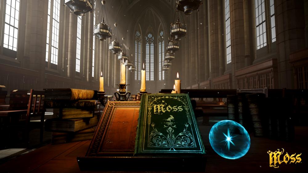 In Moss wird die zauberhafter Geschichte des Buches Moss nachgespielt