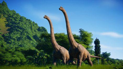 Jurassic World Evolution im Test (PC): Ein Haufen Dinos zum Verlieben
