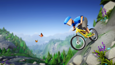 Lonely Mountains: Downhill radelt sich im Mai auf die Switch
