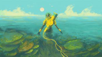 In Other Waters im Test (Switch): Als KI quer durch den Alien-Ozean