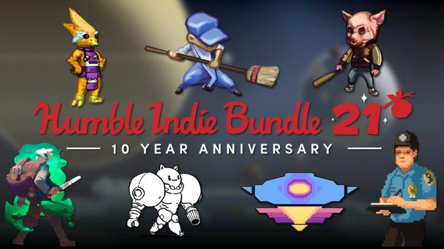 Humble Bundle feiert zehn Jahre mit Humble Indie Bundle 21