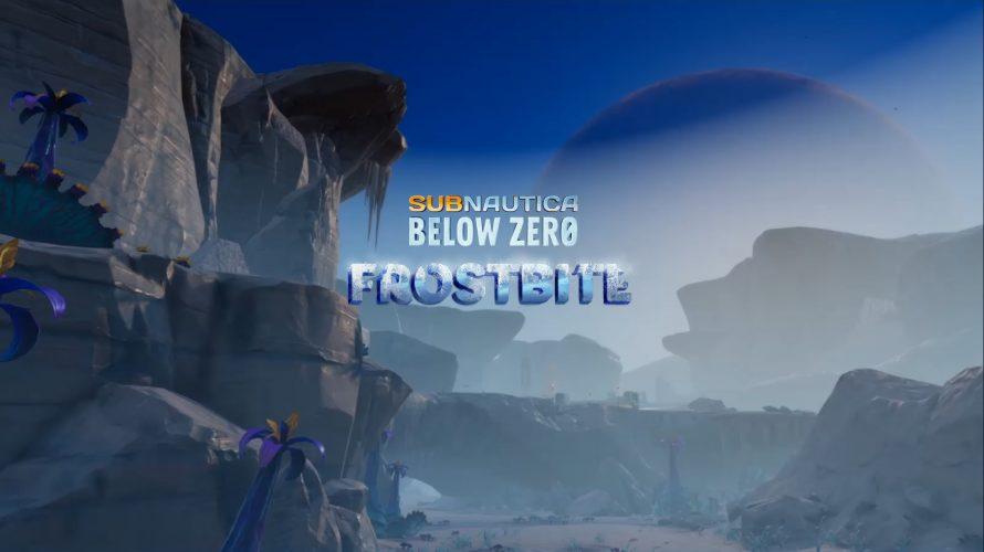 """Subnautica: Below Zero – Mit dem """"Frostbite""""-Update wird es eisig"""