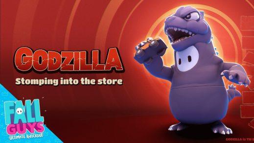 Fall Guys: Godzilla-Kostüm ab 3. November verfügbar