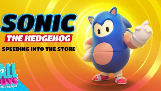 Sonic-Skin ab sofort in Fall Guys erhältlich