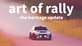 Art of Rally: Kostenloses Update bringt neue Autos und Spielmodus auf die Piste