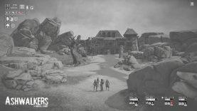 Ashwalkers im Test (PC): Ein dystopischer Kurztrip in grau